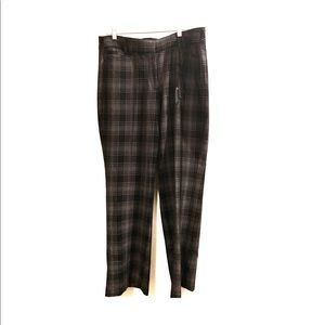 Lane Bryant Lena tailored stretch plaid pants